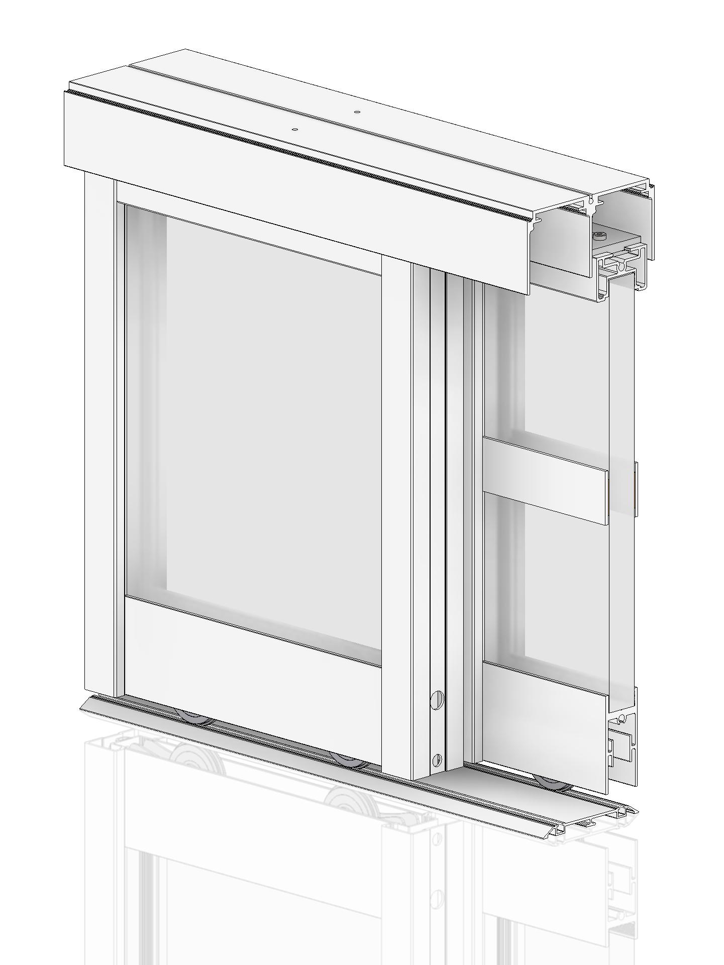 """1 konfektionierter Rahmen """"Profil S19"""" in Alu eloxiert"""