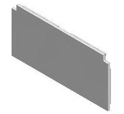 1 VE Endkappe Aluminium für 2-läufige Deckenschienen