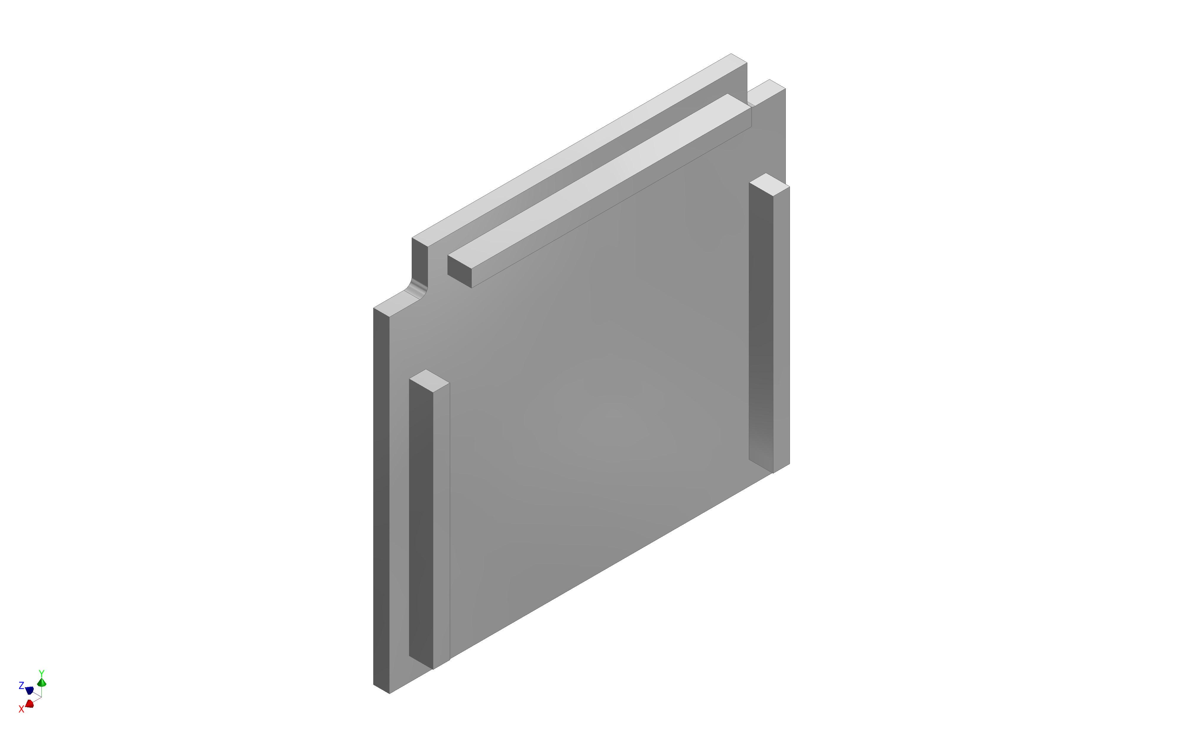 1 VE Endkappe Aluminium für 1-läufige Deckenschienen