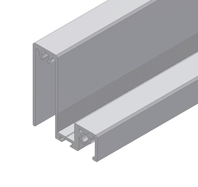 1 VE unteres Querprofil S-Linie