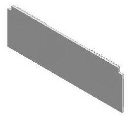 1 VE Endkappe Aluminiuim für 3-läufige Deckenschienen